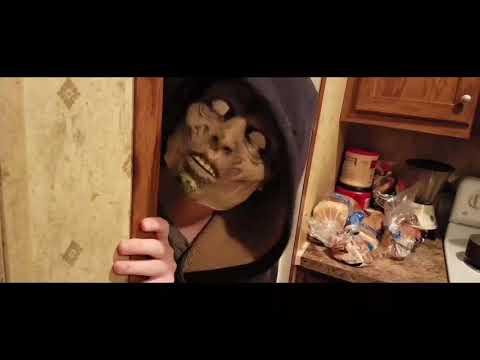 Glitch short horror film