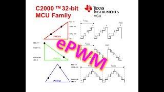 Configurar PWM C2000 MCU F28379D F28377 F28335 F28037 F28027