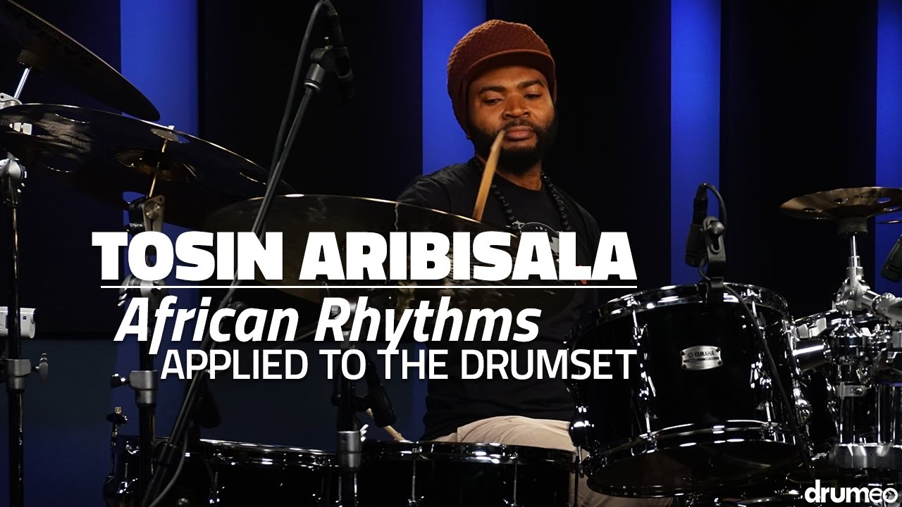 tosin aribisala african rhythms applied to the drumset full drum