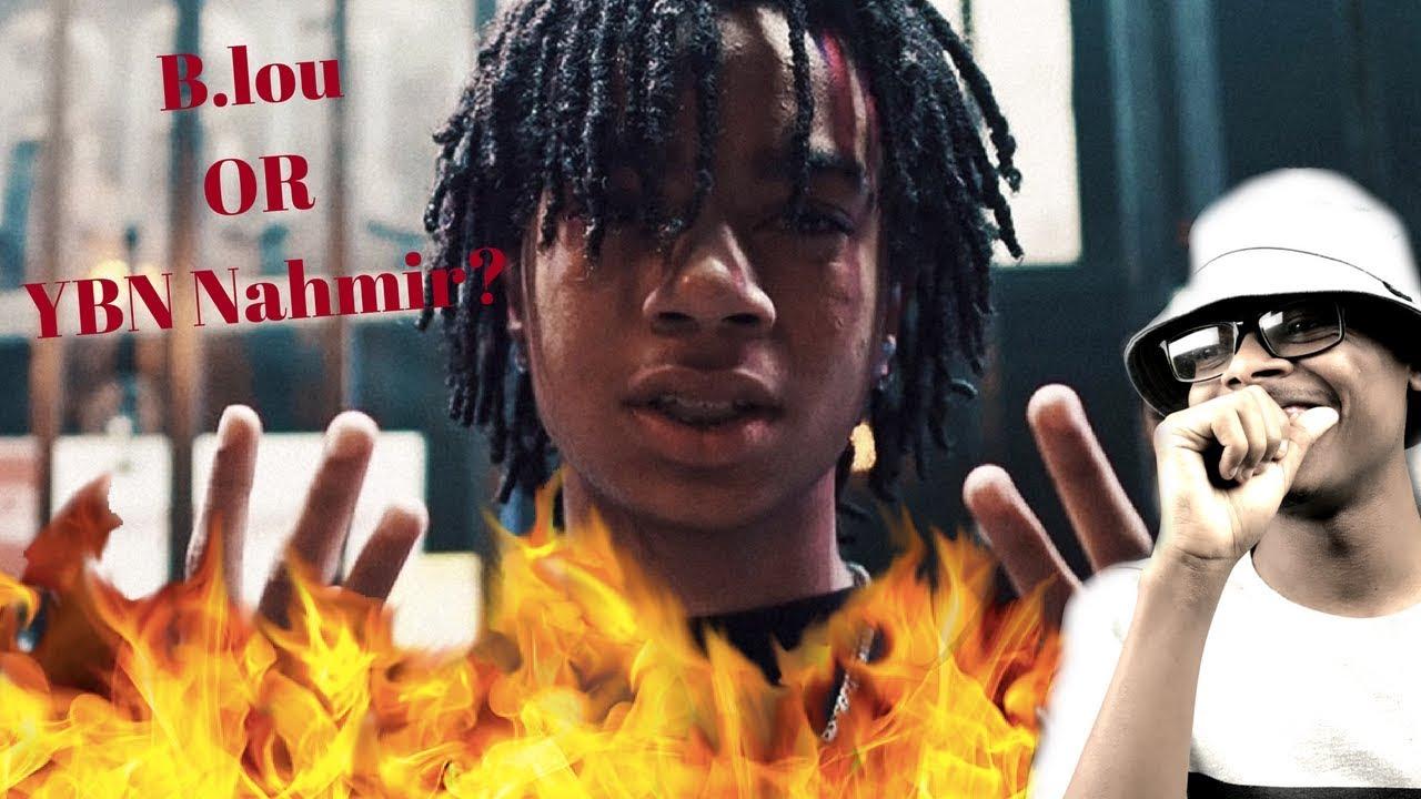 Which better B.Lou Or This? | YBN Nahmir - Gucci Gang Remix | reaction
