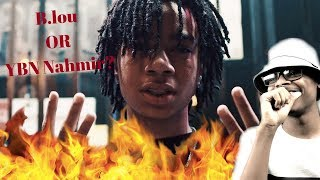 Which better B.Lou Or This? | YBN Nahmir - Gucci Gang Remix | reaction