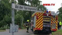 2019 08 09 Bad Rothenfelde PKW vor Teich NWM TV