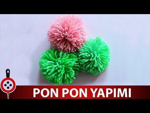 Ponpon Yapımı | Pompom veya Ponpon Nasıl Yapılır ?