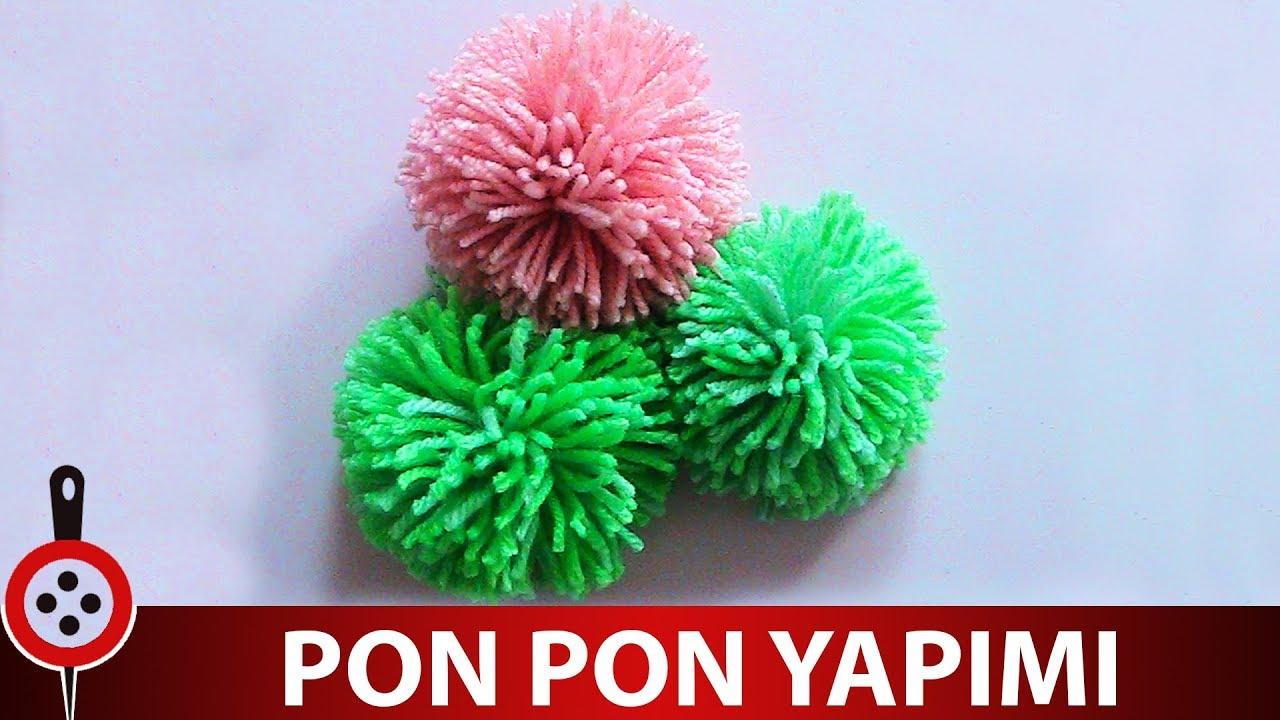 Elde Ponpon Nasıl Yapılır