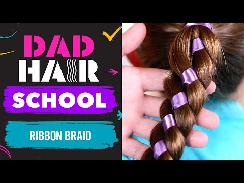Phil Morgese Creates Tangled Inspired Ribbon Braid   Dad Hair School   Babble