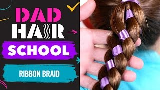 Best braid ever! Phil and Emma share a ribbon braid fit for Rapunze...