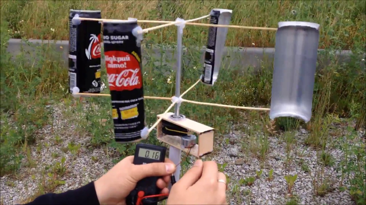 How to Make Vertical Wind Generator