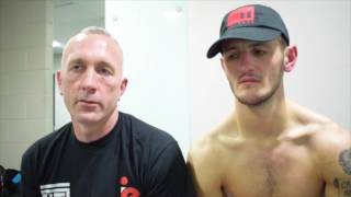 JASON EASTON REACT TO HIS WIN OVER ZOLTAN SZABO IN EDINBURGH ON JOSH TAYLOR UNDERCARD