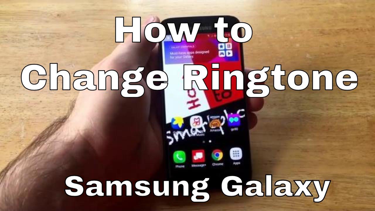 no ringtone samsung s7