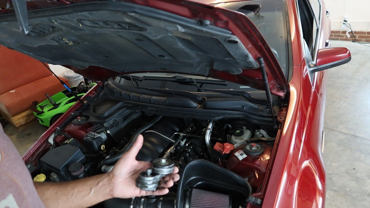 Pontiac G8 AC Tensioner Delete DIY
