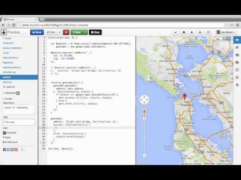 Google Maps Geocoding by Address with Javascript Tutorial ...