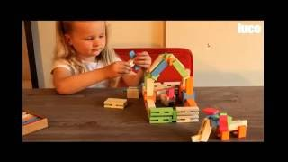 Educational Toys For Kids And Toddlers, Child Development, Wooden Toy Blocks By Lucotoys