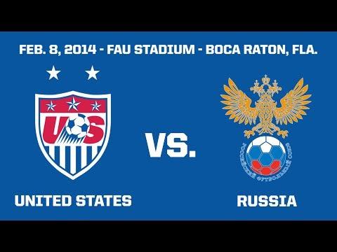 WNT vs. Russia: Full Match - Feb. 8, 2014