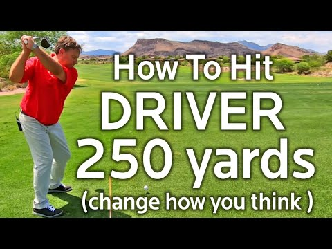 HOW TO HIT DRIVER LONGER (250 YARDS or More)