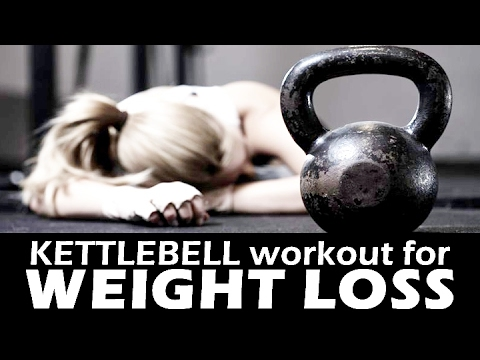 4 minutes Kettlebell weight loss workout to lose weight fast | Fitness Rockers