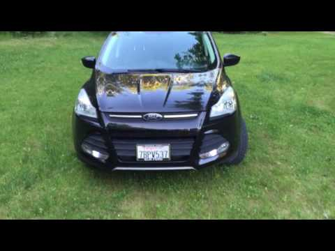 2013 ford escape walk around | a/t tires and led light bar - youtube