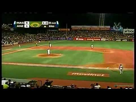 2do Jonrón de Robinson Chirinos - Magallanes vs Caribes, 25-1-2014