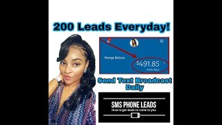 SMS Blaster Review | Get MCA Leads | 200 Leads Per Day