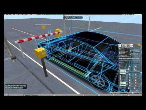 Parking barrier: How it works