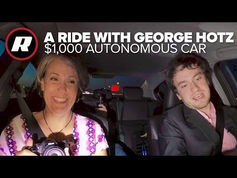 We go riding with George Hotz and his $1,000 autonomous car