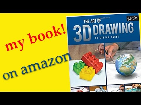 The Art of 3D Drawing / ★my book on amazon★ How to paint in 3D