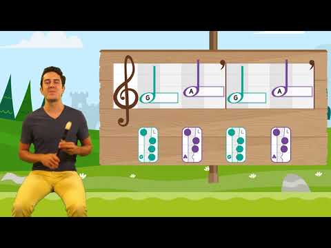 Recorder Prodigies: Learn G, A & B Recorder Lesson  From The Prodigies Music Curriculum