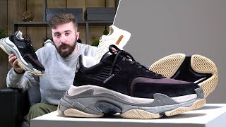 Video Unboxing The Top 4 Luxury Sneakers Available Now | BALENCIAGA TRIPLE S, GUCCI, PRADA & RAF SIMONS download MP3, 3GP, MP4, WEBM, AVI, FLV Agustus 2018