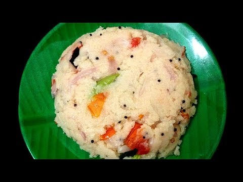 Rava Upma In Tamil | ரவா உப்புமா | South Indian Breakfast Recipe In Tamil