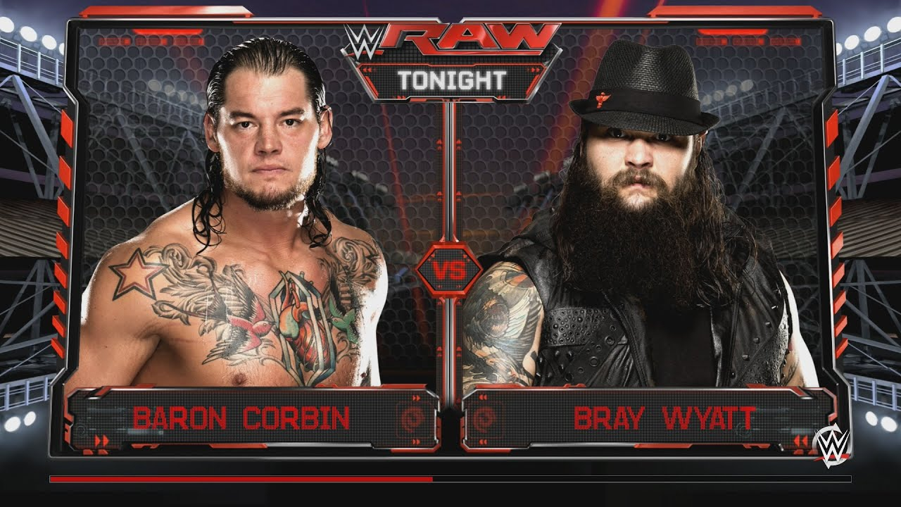 Download Baron Corbin vs Bray Wyatt WWE RAW May 2, 2016 WWE 2K16