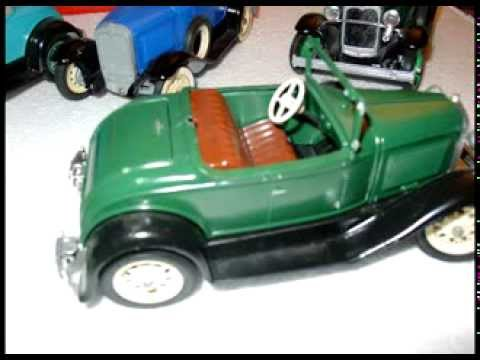 "Hubley Model Cars- 1930-31 FORD MODEL ""A""s"