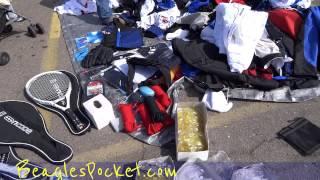 American Swap Meet Flea Market Walkaround Bargain Hunting Video Buying / Selling
