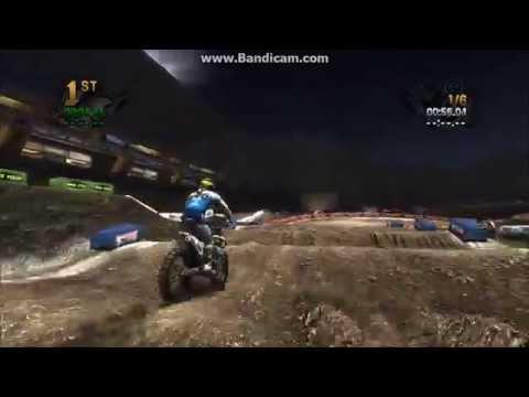 Mx Vs Atv Reflex: Supercross Gameplay (Husqvarna Rockstar)
