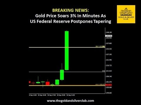 The Gold & Silver Club | Gold Silver Trading | 061 - Gold Price Skyrockets As Fed Postpones Tapering