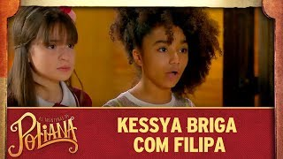 Kessya e Filipa brigam | As Aventuras de Poliana