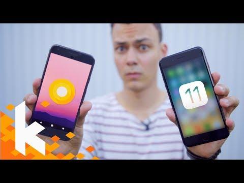 iOS 11 vs Android O - Die wichtigsten Unterschiede!