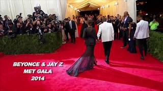 Jay Z Proposes To Beyonce On The Red Carpet MET GALA 2014
