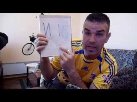 An Idiot Practicing Serbian Language  #2... 1/2 of the Alphabet