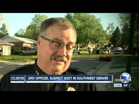 DPD officer, suspect shot in southwest Denver