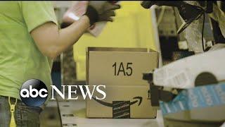 Trump takes on Amazon