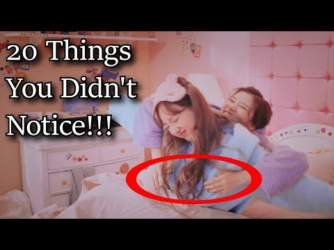 🐍 Sana, what are you doing? 20 Things You Didn't Notice in Twice Brand New Girl MV