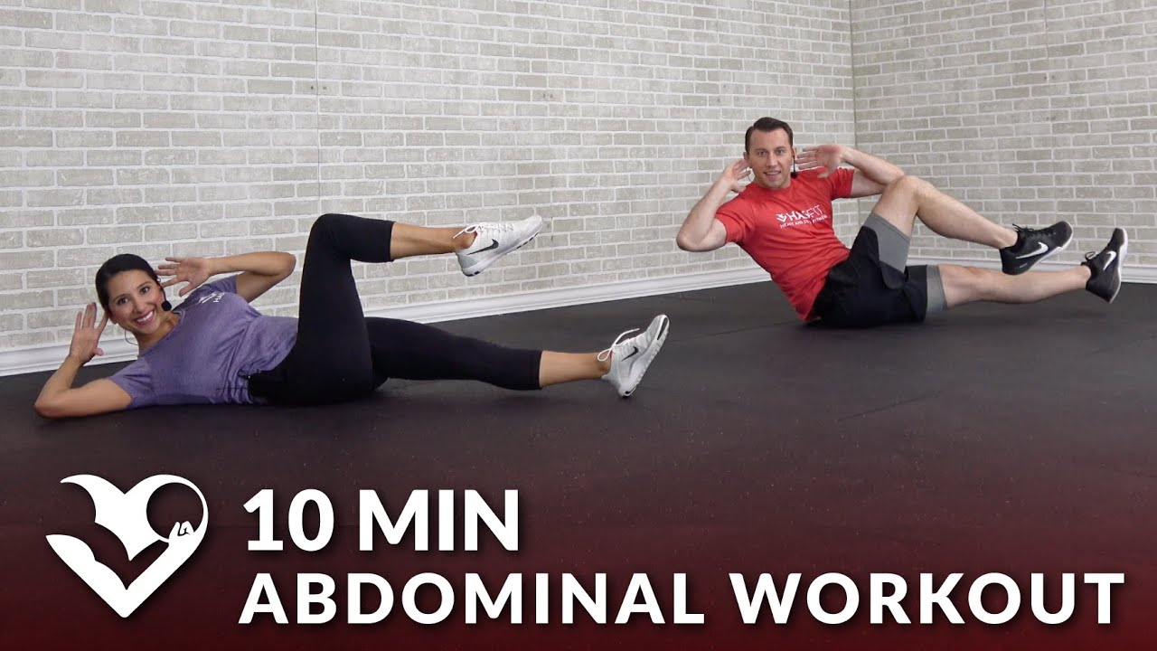 10 Minute Abdominal Workout Youtube