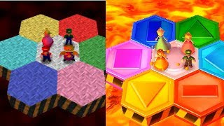 Mario Party 2 Minigames Comparison (N64 Vs 3DS)