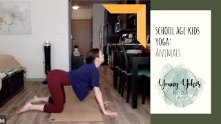 School Aged Yoga with Emily - Animals