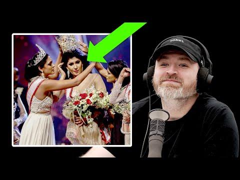 Mrs. World vs Mrs. Sri Lanka Onstage Scuffle...