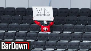 THE ONLY FAN AT A WORLD JUNIORS GAME