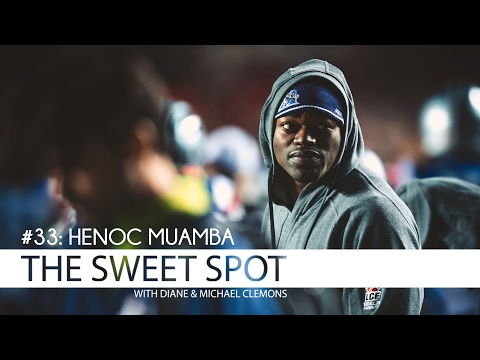Henoc Muamba of the Saskatchewan Roughriders Finds The Sweet Spot
