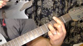 Guitar Tutorial - Love is the Answer - ED&JFC (1979)  & Dan Seals (1991)