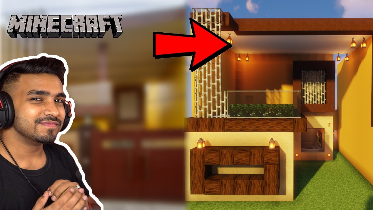 MAKING REAL HOME IN MINECRAFT   TECHNO GAMERZ