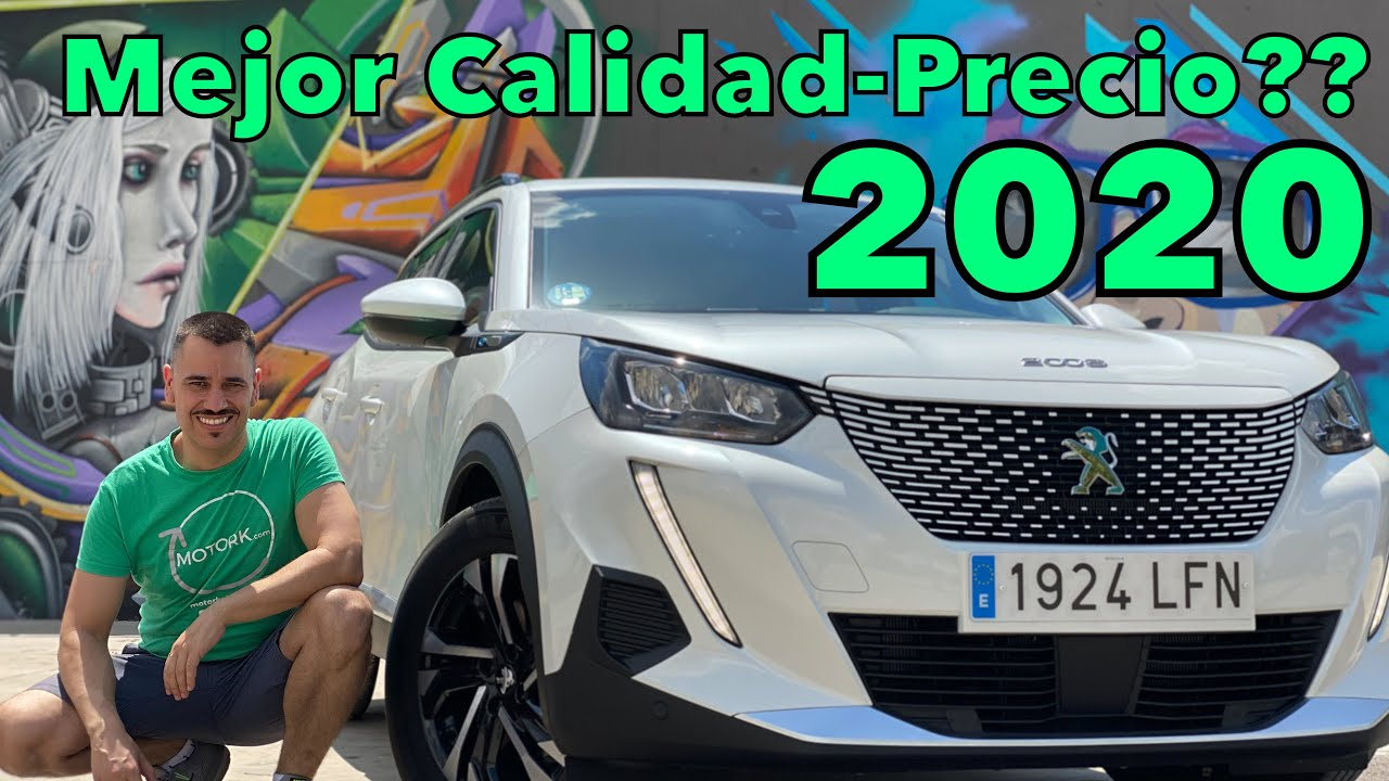 Peugeot 2008 eléctrico: Mejor SUV eléctrico de 2020?? Revisión MOTORK