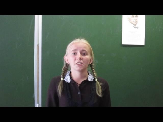 Елизавета Гуськова читает произведение «Слово» (Бунин Иван Алексеевич)